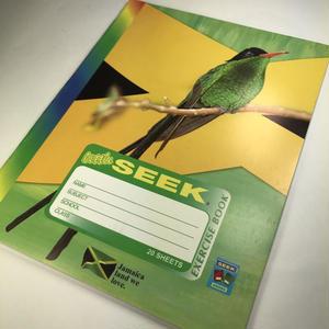 ジャマイカ直輸入!ジャマイカ 大統領や偉人たちが描かれているノート