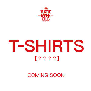 TURTLE MAN's CLUB T-SHIRTS   [WHT/RED] 【 ???? 】予約開始