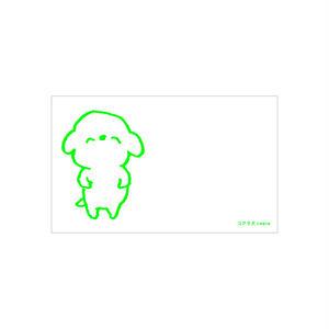 メッセージカード(コアラ犬)