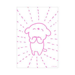ポストカード(コアラ犬B)
