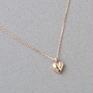 K10ピーチハートNecklace