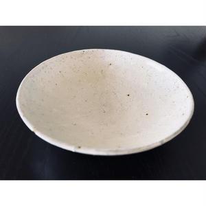 鈴華窯 ガラス釉五寸浅鉢