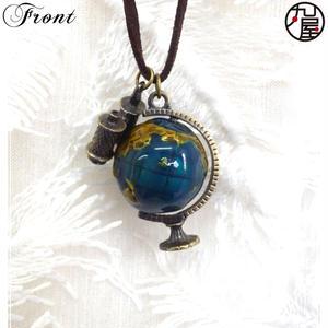 地球儀ネックレス