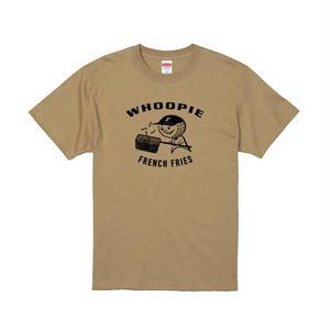 Whoopie girl T-shirt(サンドカーキ)