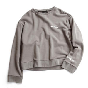 "SHORT CREW NECK SWEAT ""NEU LIBERATION"""