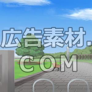 スマホ広告向け背景画像:公園(昼)