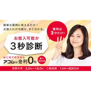 【記事販売】カードローン会社「アコム」紹介記事テンプレート(1000文字)