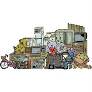 引っ越しアフィリエイト「不用品を処分する方法」記事テンプレート(2400文字)