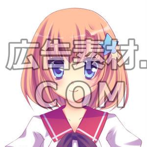 ニコニコ動画やゲーム雑誌で話題となった2年の女子高校生キャラアップ画像11枚(衣装/顔差分あり)