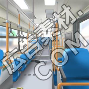 スマホ広告向け背景画像:バスの中