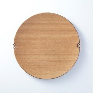 ■Gold Craft 木製プレート【SHIMA-SHIMA】M / circle