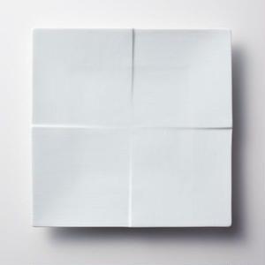 Miyama 磁器プレート【CALM】20cm / 白磁