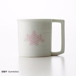 YOnoBI 磁器マグカップ【H-KOMON】pink