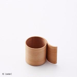 YOnoBI 木製デミタスカップ【α Ⅱ】