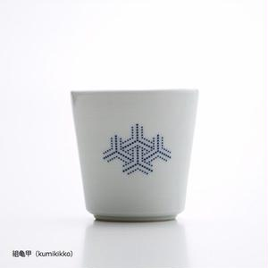 YOnoBI 磁器カップ【H-KOMON】blue