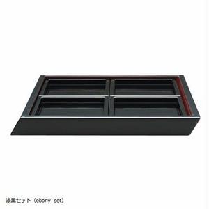 YOnoBI 漆器プレートセット【KATACHI】