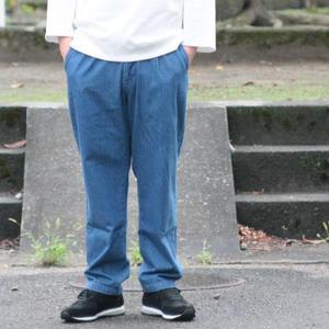 *ユニセックス*LA MOND.★ラモンド★デニムトラウザー BLUE(LM-P-050)