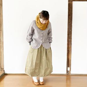 再入荷*レディース*OMNIGOD★オムニゴッド★リバースチノギャザースカート(57-0067T)