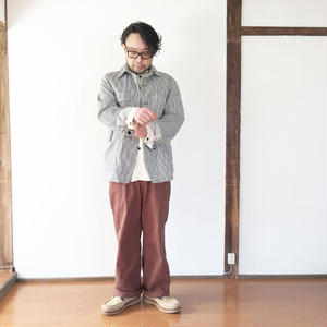 *メンズ*OMNIGOD★-オムニゴッド-ヒッコリーカバーオール (58-169D)