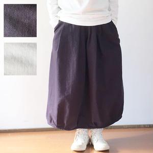 完売致しました*レディース*OMNIGOD★オムニゴッド★バックサテン ギャザースカート(57-0149S)