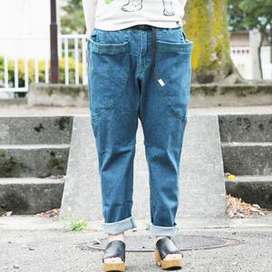 *ユニセックス*go slow caravan★ゴースローキャラバン★ストレッチデニムワキポケイージーパンツ