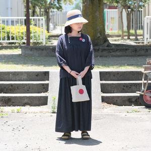 ※ご予約専用※*goods*【h】yumi sakurai★(アッシュ)ユミサクライ★ふわふわ8分袖ワンピース