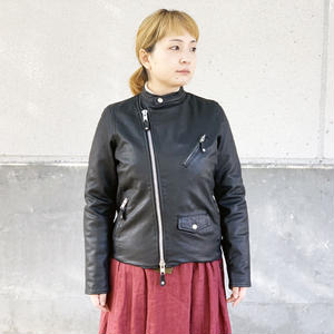 *レディース*AWESOME LEATHER★オーサムレザー★Goat leather  Double Riders Jacket