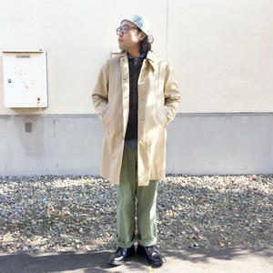 *メンズ*ARAN★アラン★Ventile Sprit Raglan Coat ベンタイル生地 ステンカラーコート