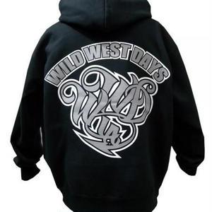 WWD zip hood / WWD LA BACKPRINT (Color: Black / Gray)