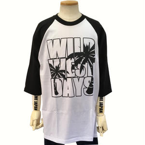 STREET GAME Raglan Tee / PALM (Heavy Weight)