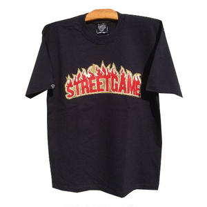 STREETGAME.T / SGFIRE(Heavy Weight) (Navy / Red)