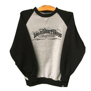 WILDWESTDAYS SWEAT / SP (Color: Black / Charcoal)