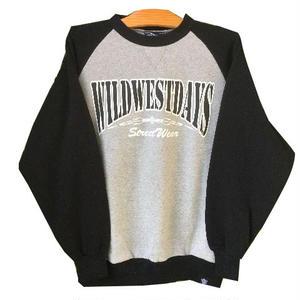 WILDWESTDAYS SWEAT / OG (Color: black / gray / black
