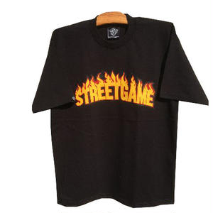 STREETGAME.T / SGFIRE(Heavy Weight) (black / dark yellow)