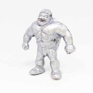 妖怪レスラー・カッパーマン(銀)プラスチック人形