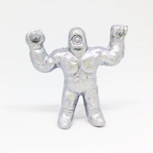 妖怪レスラー・一つ目マン(銀)プラスチック人形