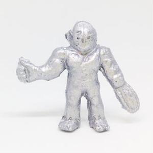 妖怪レスラー・ホラーマン(銀)プラスチック人形