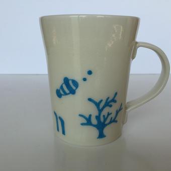 【陶工房 楼蘭】マグカップ