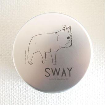 【hana*hana】SWAY アルミ弁当箱 丸型