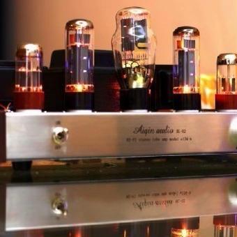【送料無料!】シングルエンド真空管アンプ クラスA ランプ Laochen el34 シルバーバージョン standard version