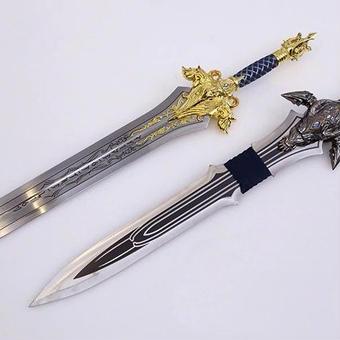 【送料無料!】WOW  sword 75cm 1.5kg コスプレ イベント ゲーム 小道具 コレクション  ギフト プレゼント