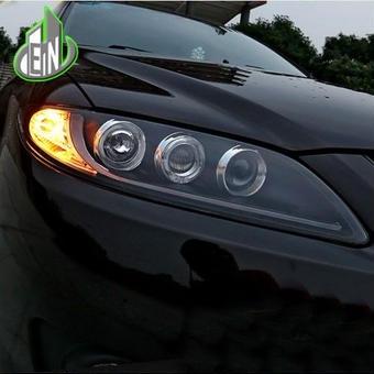 【送料無料!】MAZDA アテンザ  LED ヘッドライト ヘッドランプ 8000K ホワイト・ブルー 55W 2003-2014
