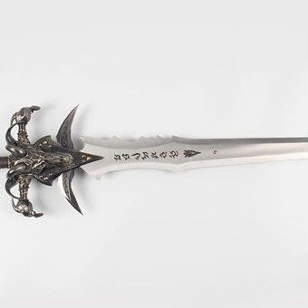 【送料無料!】WOW Arthas Menethil sword 120cm 5kg コスプレ イベント ゲーム 小道具 コレクション  ギフト プレゼント