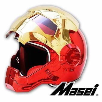 【送料無料!】フルフェイス 海外ブランド 高品質 アイアンマンタイプ ヘルメット フルカラー おしゃれ 新品