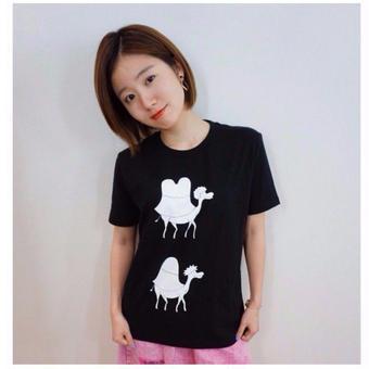 Tシャツ(ラクダTシャツ[黒]/あさこTシャツ[白])