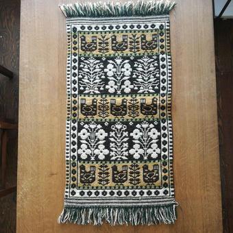ヤノフ村の織物 タペストリー 鳥と花 #1155