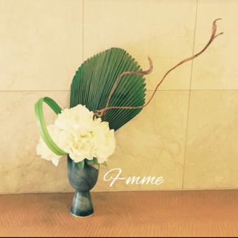 ホワイトピオニー(芍薬)モダン