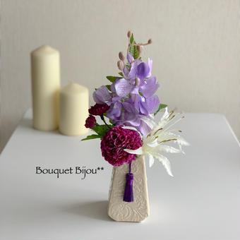 ●お供え花【モダン 仏花】プレミアム舞花 B59