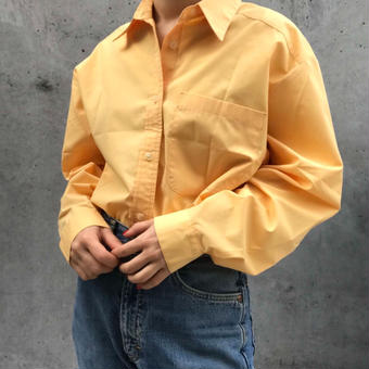 yellow simple shirt