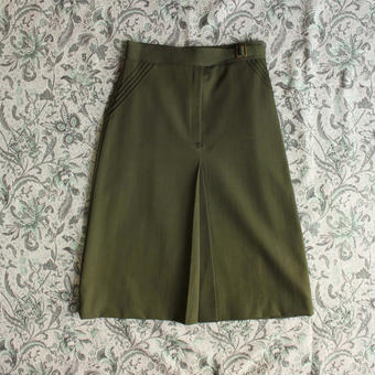 army color skirt